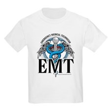 EMT Caduceus Blue T-Shirt