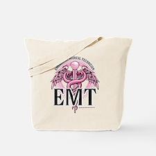 EMT Caduceus Pink Tote Bag