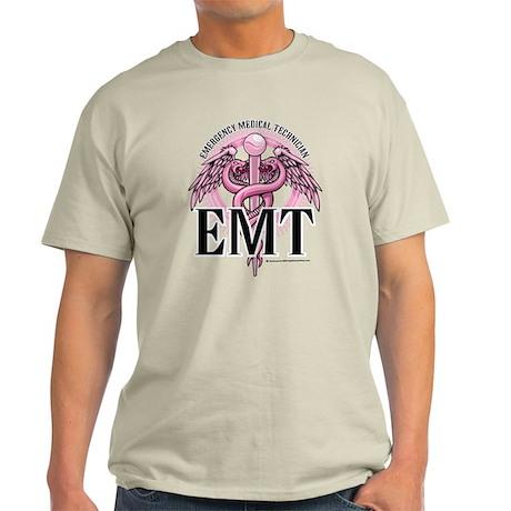 EMT Caduceus Pink Light T-Shirt