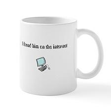 I found him mug
