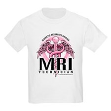 MRI Tech Pink Caduceus T-Shirt