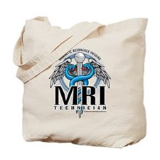 MRI Tech Caduceus Blue Tote Bag