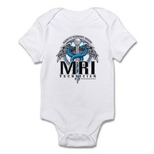 MRI Tech Caduceus Blue Infant Bodysuit