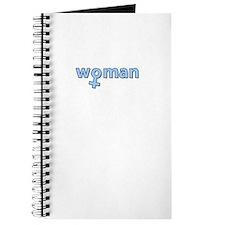 Baby Blue - Woman Symbol Journal