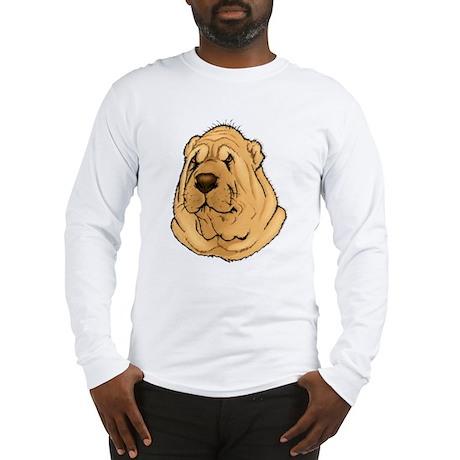 Shar-Pei Portrait Long Sleeve T-Shirt