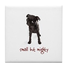 RD Pug Mighty Tile Coaster