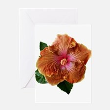 wyldfyr~Hibiscus_Brown_Sugar_ Greeting Card