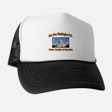 Gun Free Washington D C Trucker Hat