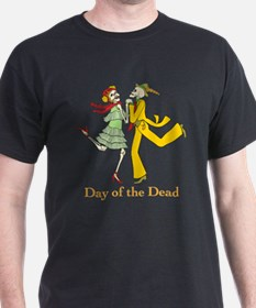 Day of the Dead Couple T-Shirt