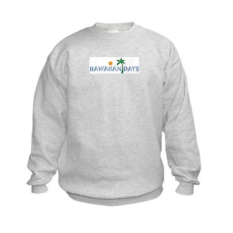 Hawaiian Days company logo Kids Sweatshirt