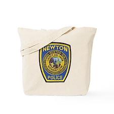 Newton Mass Police Tote Bag