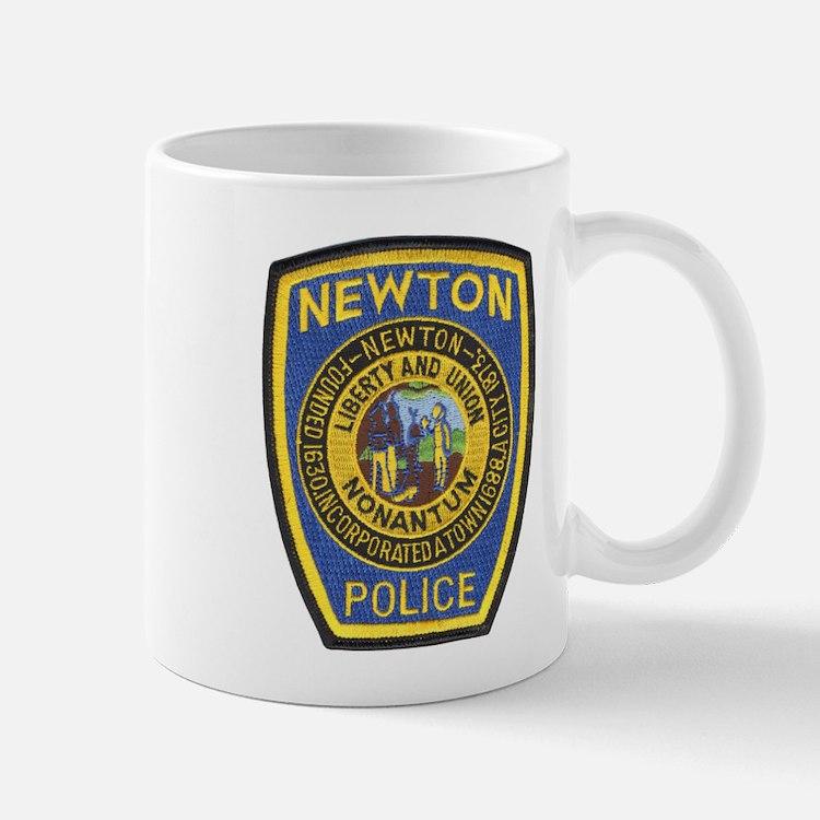 Newton Mass Police Mug
