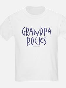 Grandpa Rocks - Kids T-Shirt