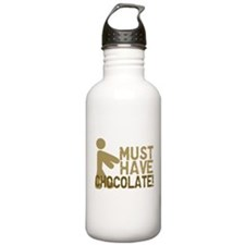 Must Have CHOCOLATE! Zombie Sports Water Bottle