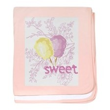 Cotton Candy Sweet Infant Blanket