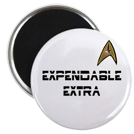 Expendable Extra Star Trek Magnet