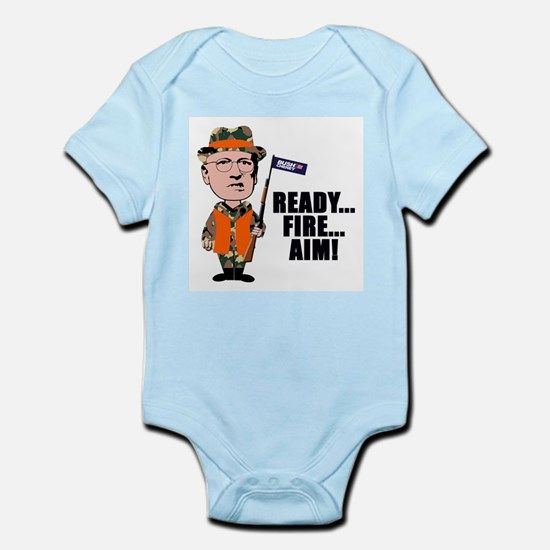 READY... FIRE... AIM... Infant Creeper