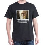 ID Darwin Backwards Black T-Shirt