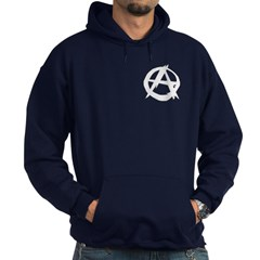 Anarchy-Blk-Whte Hoodie