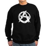 Anarchy-Blk-Whte Sweatshirt (dark)