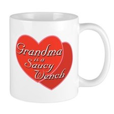 Saucy Grandma Small Mug