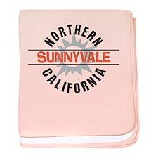 Sunnyvale California Infant Blanket