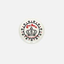 Poker Royal Crown! Mini Button (10 pack)