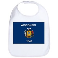 Wisconsin Flag Bib