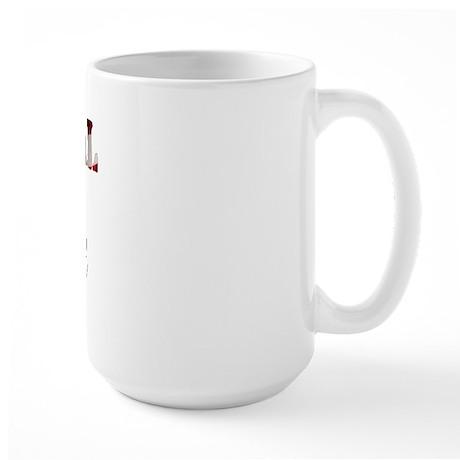 NG Girlfriend Flag Large Mug