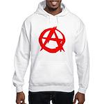 Anarchy-Red Hooded Sweatshirt