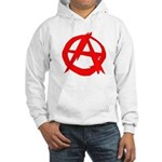 Anarchy-Red Hooded Sweatshirt