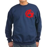 Anarchy-Red Sweatshirt (dark)