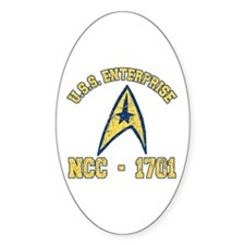USS ENTERPRISE NCC-1701 Decal