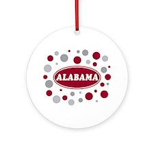 Celebrate Alabama Ornament (Round)