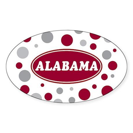 Celebrate Alabama Sticker (Oval)