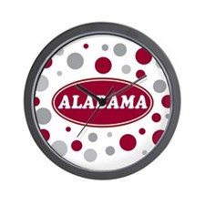Celebrate Alabama Wall Clock