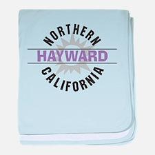 Hayward California Infant Blanket