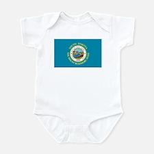 South Dakota Flag Infant Creeper
