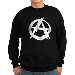 Anarchy-Blk-Whte Sweatshirt