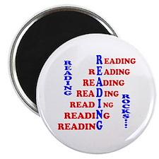 Reading Rocks! Magnet