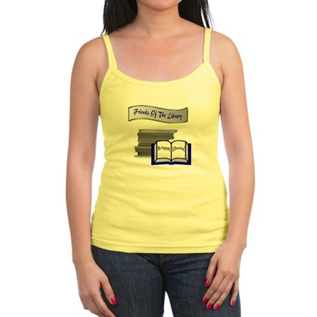 Friends of the Library Jr. Spaghetti Tank