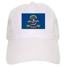 North Dakota State Flag Baseball Cap