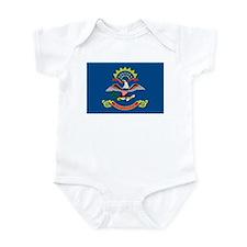 North Dakota State Flag Infant Creeper