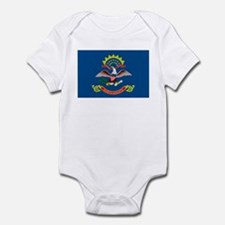 North Dakota State Flag Infant Creeper