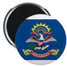 "North Dakota State Flag 2.25"" Magnet (10 pack)"