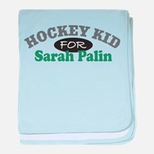 Palin Hockey Kid Infant Blanket