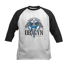 OB/GYN Caduceus Blue Tee