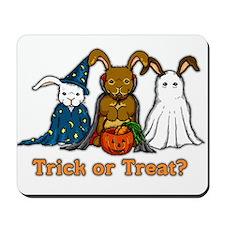 Halloween Rabbits Mousepad