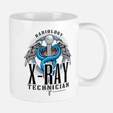 X-Ray Tech Caduceus Blue Mug