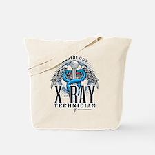 X-Ray Tech Caduceus Blue Tote Bag